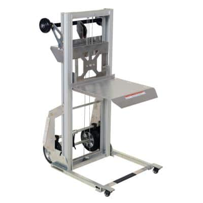 17 in. x 14 in. Portabele Aluminum Load Lifter