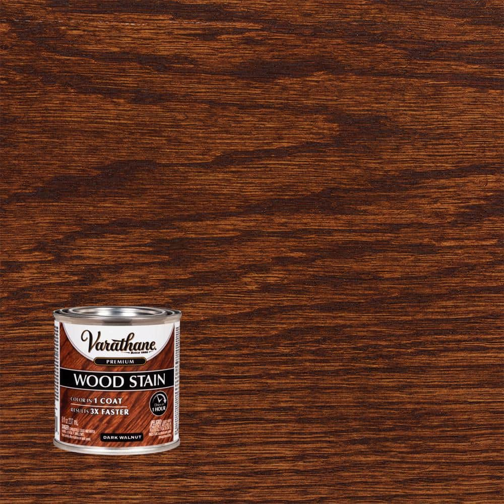 Varathane 8 oz. Dark Walnut Premium Fast Dry Interior Wood Stain