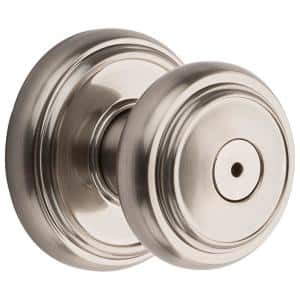 Prestige Alcott Satin Nickel Bed/Bath Door Knob