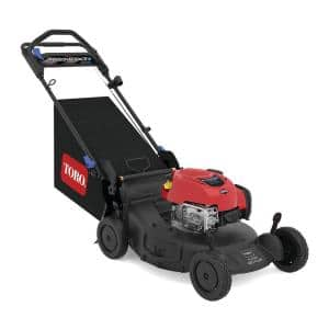 21 in. Super Recycler 7.25 ft. lbs. Gross Torque Briggs and Stratton Gas Recoil Start Walk Behind Push Mower