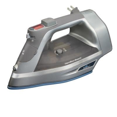 Durathon Non-Stick Soleplate Iron with Retractable Cord