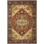 Heritage Red 5 ft. x 8 ft. Area Rug
