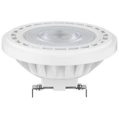 50-Watt Equivalent AR111 Aluminum Reflector 12-Degree G53 Base Spotlight LED Light Bulb in Warm White 3000K (6-Pack)