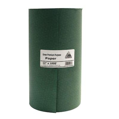 Easy Mask 12 IN. X 1000 FT. Green Premium Masking Paper