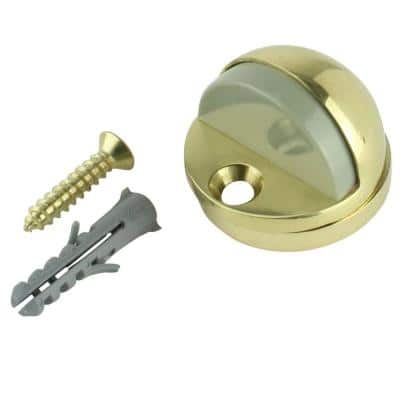 Solid Brass Adjustable Floor Door Stop