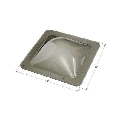 Standard RV Skylight, Outer Dimension: 18 in. x 18 in.