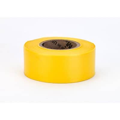 1-3/16 in. x 300 ft. Yellow Surveyor Grade ULTRA Flagging Tape (Pack of 24)