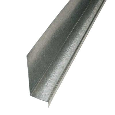 3/8 in. x 10 ft. Galvanized Steel Z Bar Flashing