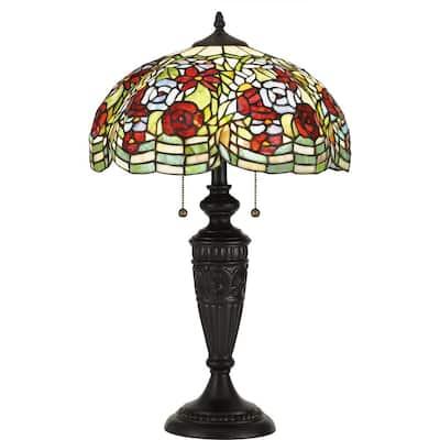 Privette 26.75 in. Vintage Bronze Table Lamp