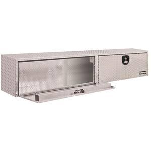 72 Diamond Plate Aluminum Full Size Top Mount Truck Tool Box