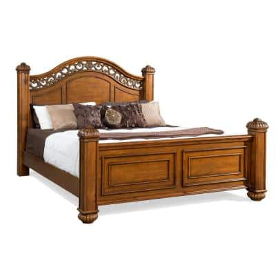 Barrow Oak King Poster Bed