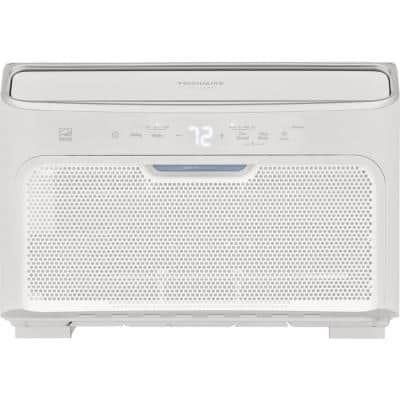 10,000 BTU Inverter Quiet Temp Smart Room Air Conditioner in White