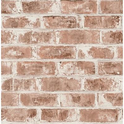Jomax Red Warehouse Brick Red Wallpaper Sample