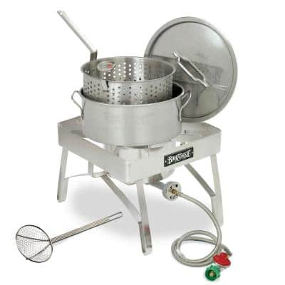10 Qt. Stainless Steel Fish Fryer