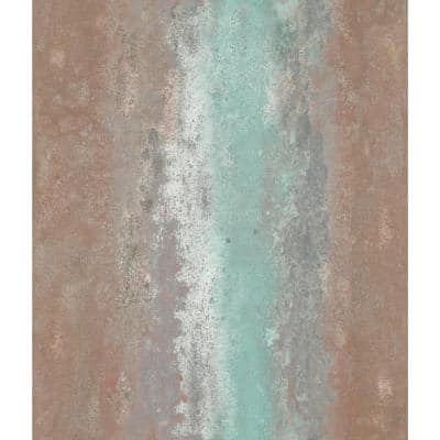 Oxidized Metal Peel and Stick Wallpaper (Covers 28.18 sq. ft.)
