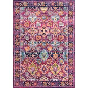 Leilani Persian Fuchsia 7 ft. x 9 ft.  Area Rug