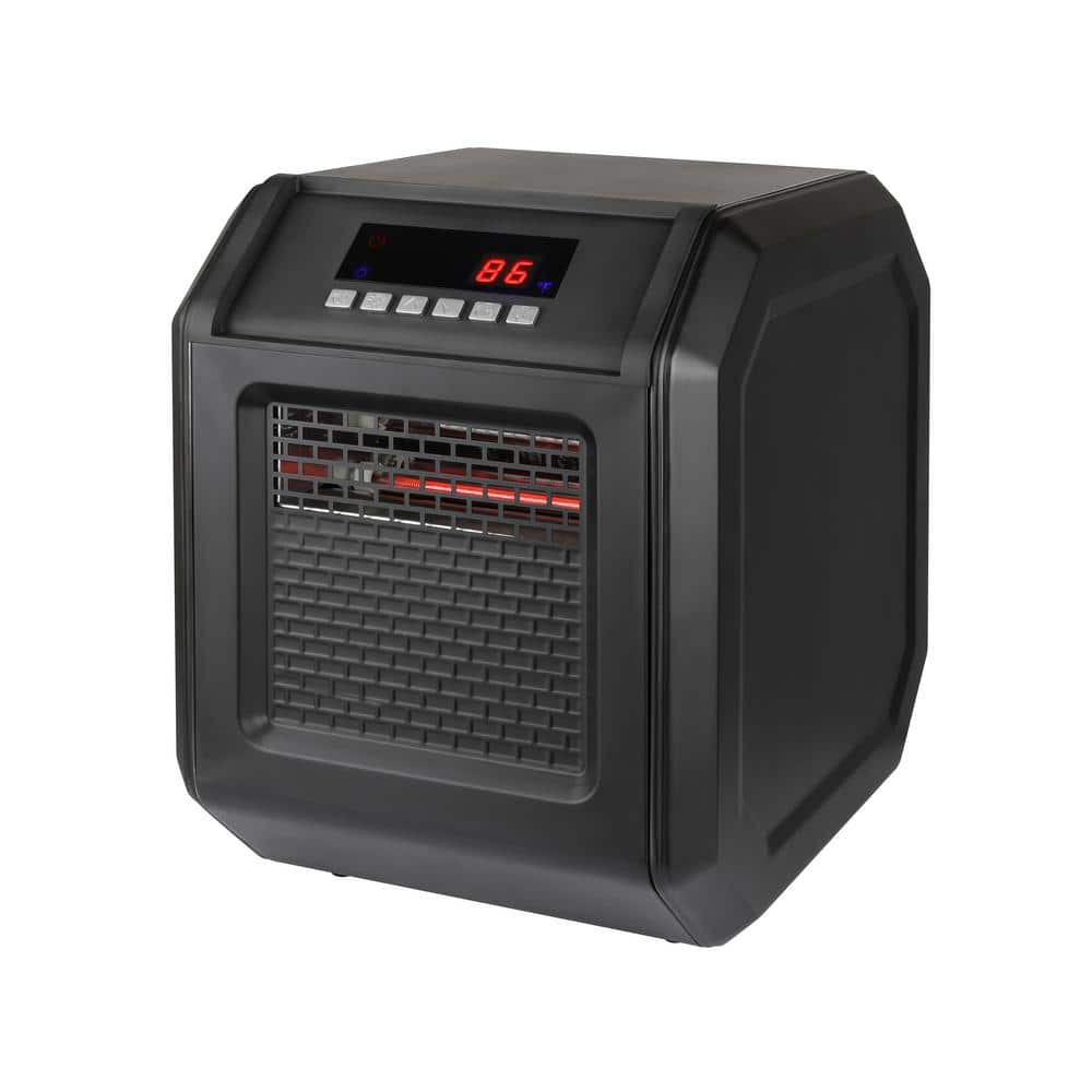 1 500 Watt Electric Infrared Space Heater With Remote Control Gd9315bcp 6 The Home Depot