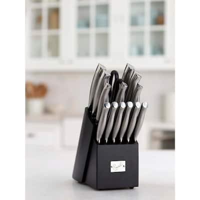 15-Piece Hollow Handle Knife Block Set