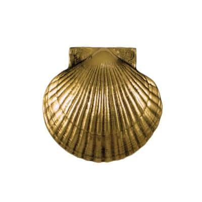Brass Scallop Door Knocker