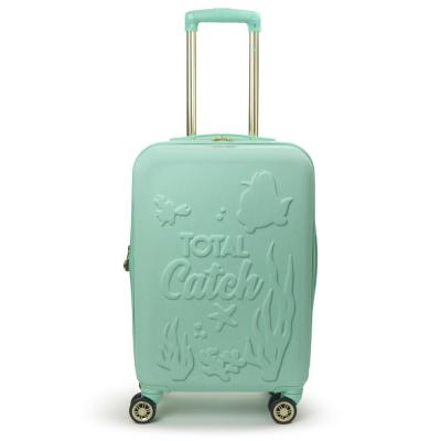 Disney Princess Ariel Little Mermaid 21 in. Teal Hard-Sided Carry-On Luggage
