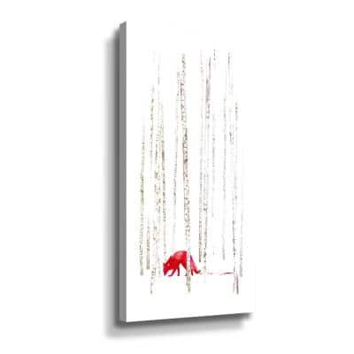 'There's nowhere to run' by  Robert Farkas Canvas Wall Art