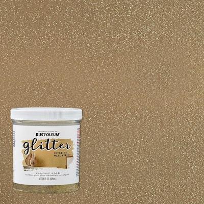 28 oz. Harvest Gold Glitter Interior Paint (2-Pack)