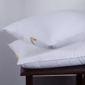 Puredown Goose Down Jumbo Pillow (Set of 2)
