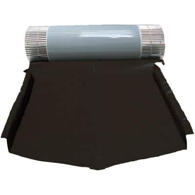 23.62 in. x 196.85 in. Valley Flashing Band in Black