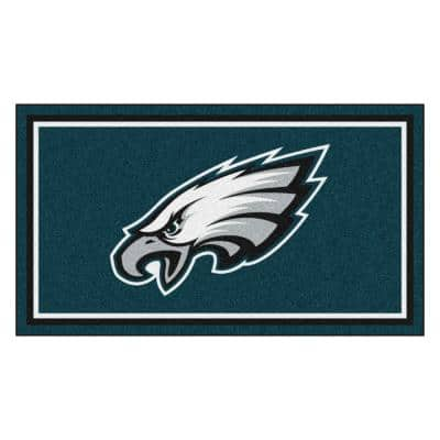 NFL - Philadelphia Eagles 3 ft. x 5 ft. Ultra Plush Area Rug