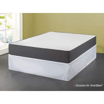 SmartBase 18 in. Twin XL Polyester Bed Skirt