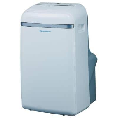 14,000 BTU 115-Volt Portable Air Conditioner with Follow Me LCD Remote Control