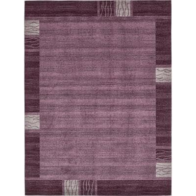 Del Mar Sarah Purple 10' 0 x 13' 0 Area Rug