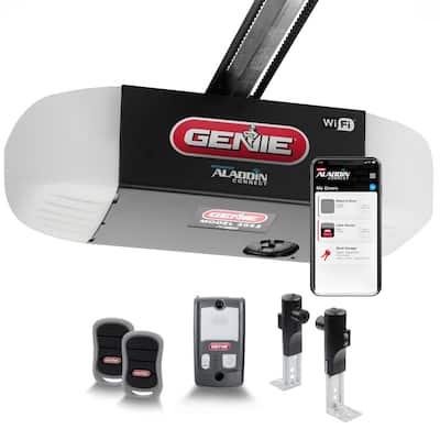 SilentMax Connect 3/4 HPc Ultra-Quiet Belt Drive Smart Garage Door Opener with Aladdin