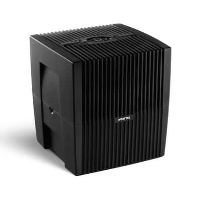 LW25 Comfort Plus Evaporative Airwasher Humidifier, Black