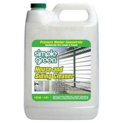 1 Gal. House and Siding Cleaner Pressure Washer Concentrate (4-Case)