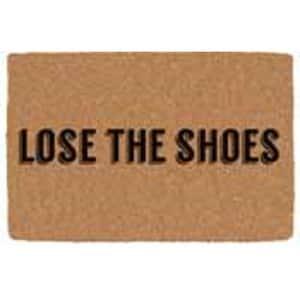 Outdoor Mat Lose The Shoes 18''X30'' Durable Coir