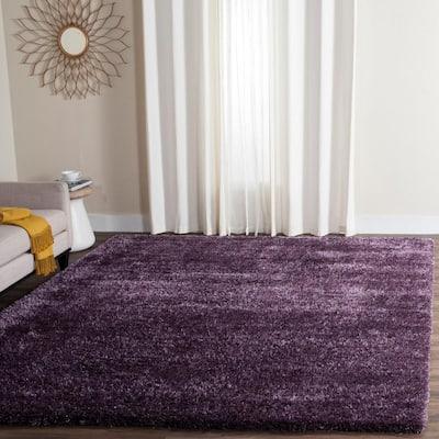 Charlotte Shag Lavender 8 ft. x 10 ft. Area Rug