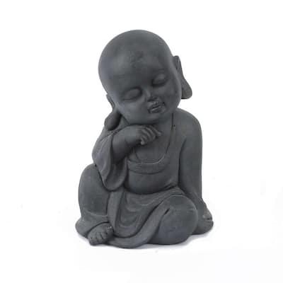 MgO Meditating Buddha Garden Statue
