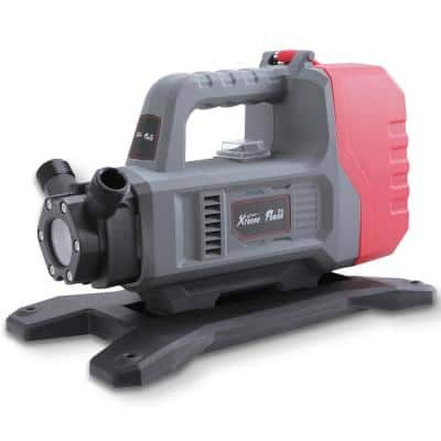 18-Volt 1/10 HP Cordless Water Transfer Pump with Inlet Hose Suction and Lithium-Ion Battery