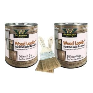 2-Pint Driftwood Gray Small Specialty Paint Kit