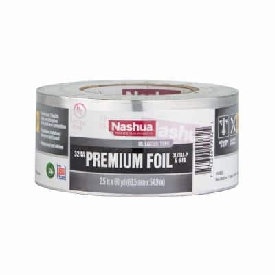 2.5 in. x 60 yd. 324A Premium Foil HVAC UL Listed Duct Tape