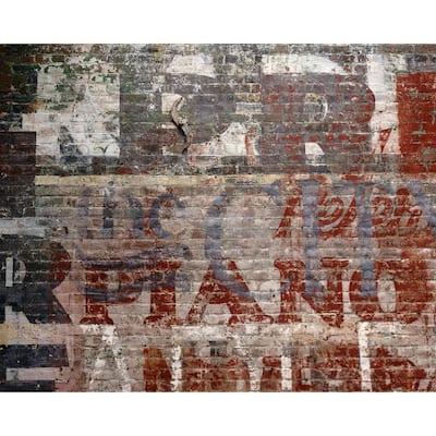 Warehouse Brick Wall Mural