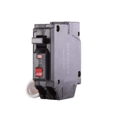 20 Amp Single Pole Ground Fault Breaker with Self-Test