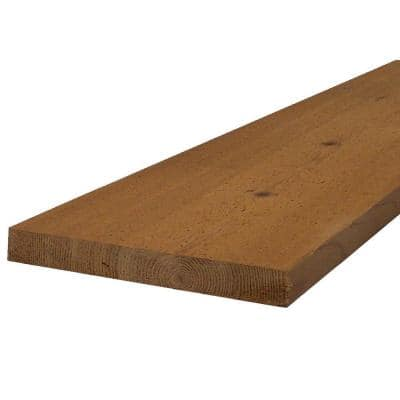3/4 in. x 6 in. x 8 ft. Select Tight Knot S1S2E Cedar Board