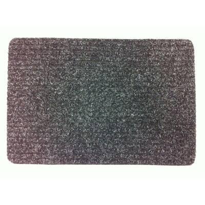 Rib-It Charcoal 18 in. x 27 in. Door Mat