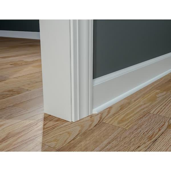 Royal Mouldings 5111 5 8 In X, White Beading For Laminate Flooring
