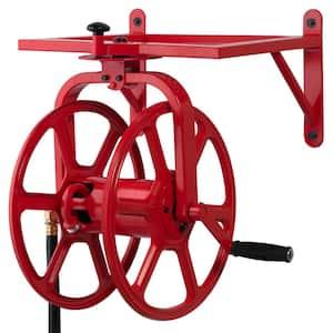 Revolution Industrial Grade Rotating Garden Hose Holder Reel