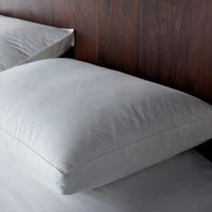 Gusseted Side Sleeper Firm Down King Pillow