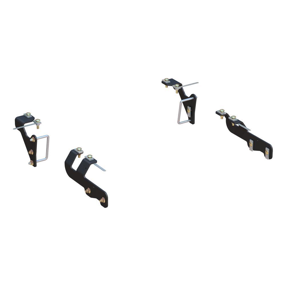 Custom 5th Wheel Brackets, Select Ram 1500