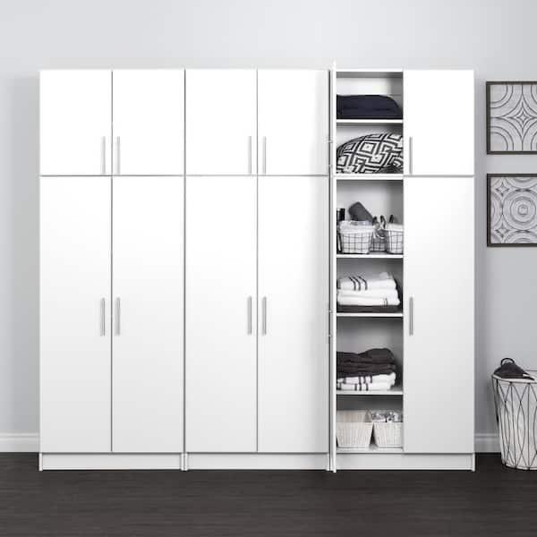 6 Piece Composite Garage Storage System, Garage Storage Wall Cabinets Home Depot